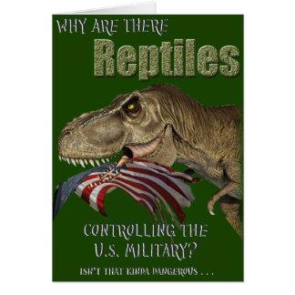 Reptil-kontrolliertes Militär Karte