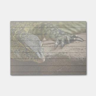 Reptil-Nil-Monitor-Eidechse Post-it Klebezettel
