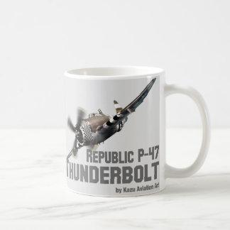 Republic P-47 Thunderbolt サンダーボルト Tasse