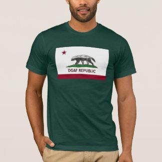 Republik des Honig-Dachs-DGAF Kalifornien!!!!! T-Shirt