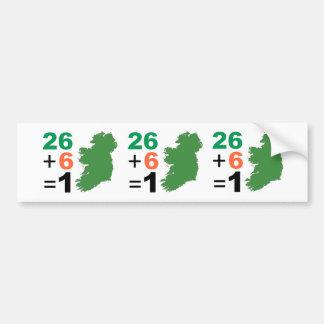 Republik Irland 26+Autoaufkleber 6=1 Autoaufkleber