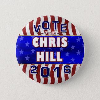 Republikaner 2016 Chris-Hügel-Präsidenten-Wahl Runder Button 5,1 Cm