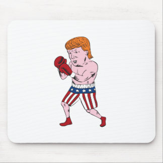 Republikaner-Boxer Donald Trump 2016 Mauspad