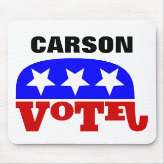 Republikaner-Elefant Abstimmungs-Dr.-Ben Carson Mousepad