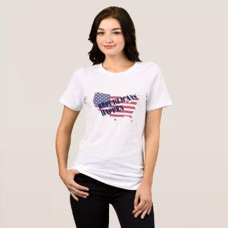 Republikaner geschehen - das T-Stück der Frauen T-Shirt