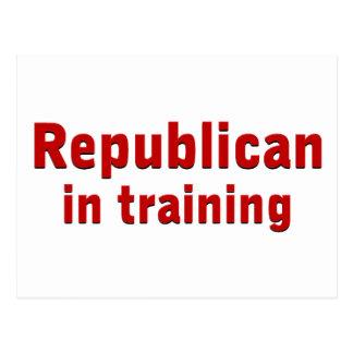 Republikaner im Training Postkarten