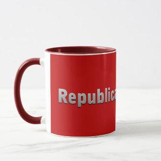 Republikaner im Training Tasse