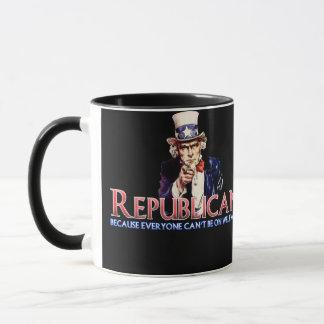 Republikaner, nicht auf Wohlfahrt Tasse