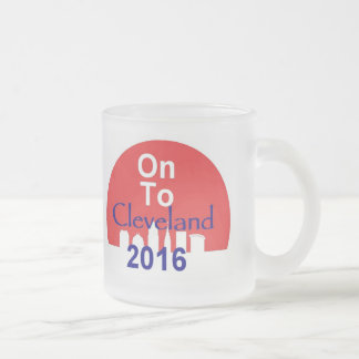 Republikaner-Versammlungs-Tasse 2016 Mattglastasse
