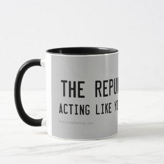 Republikaner wissen, was am besten ist tasse