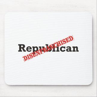 Republikanisch/entrechtet Mauspads
