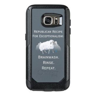 """Republikanischer """"Exceptionalism"""": Gehirnwäsche OtterBox Samsung Galaxy S7 Hülle"""