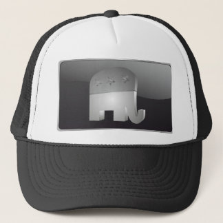 Republikanischer Hut des Elefant-(GOP) Truckerkappe