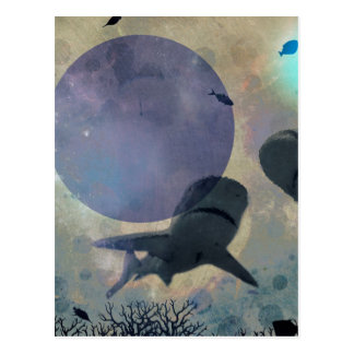 requins postkarte