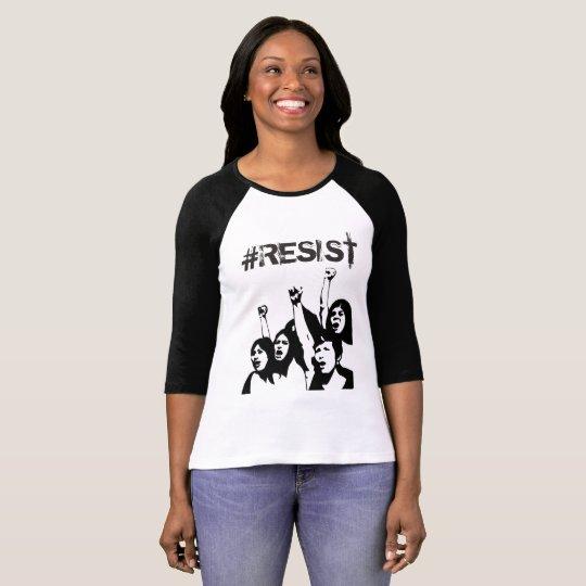 """#Resist """"Anti-Trumpf"""" das politische Shirt Frauen"""
