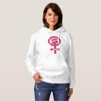 #RESIST der rosa der Hoodie Faust-Frau