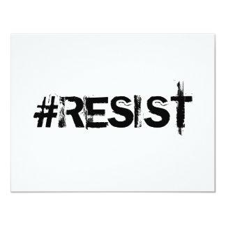 #RESIST Einladung - schwarzer Text