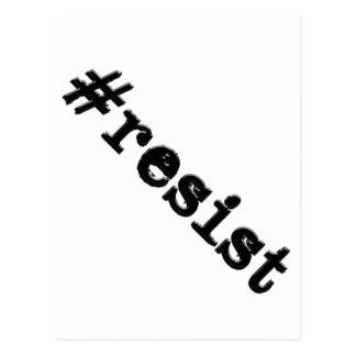 #resist postkarte