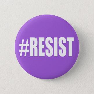 #RESIST RUNDER BUTTON 5,1 CM