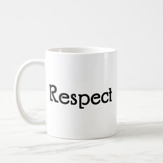 Respekt Kaffeetasse