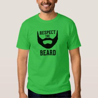 Respektieren Sie den Bart Tshirt