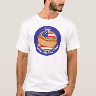 Ressortissant de hot-dog t-shirt