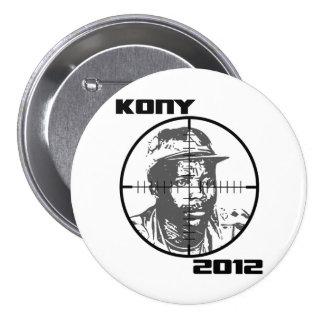 Réticules 2012 de cible de Kony Joseph Kony Pin's