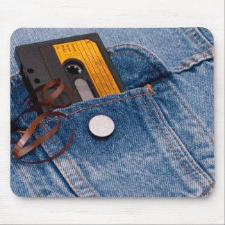 Retro Achtzigerjahre Entwurf - AudioKassette Mousepad