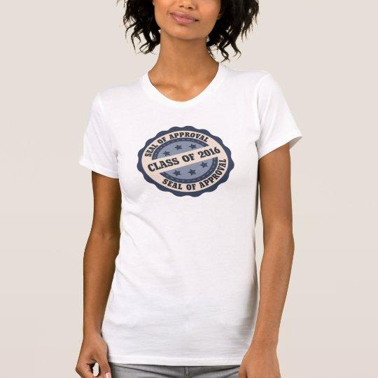 Retro ältere Klasse von Abzeichen-T-Stück 2016 T-Shirt