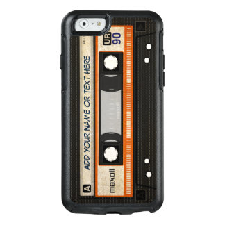 Retro altmodischer 80er Mixtape Audiokassette OtterBox iPhone 6/6s Hülle