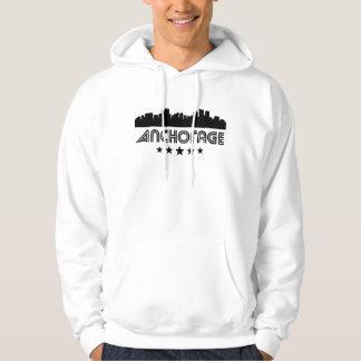 Retro Anchorage-Skyline Hoodie