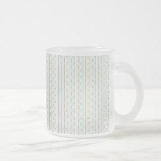 Retro Art-Hochzeits-Muster Kaffeehaferl