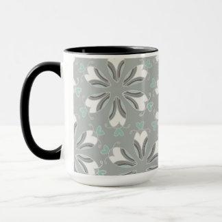 Retro Art-kundengerechtes Hochzeits-Muster Tasse