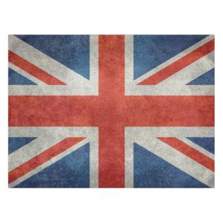 Retro Arttischdecke der BRITISCHEN britischen Tischdecke