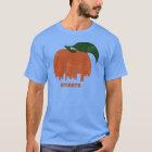 Retro Atlanta Skyline-Männer T-Shirt