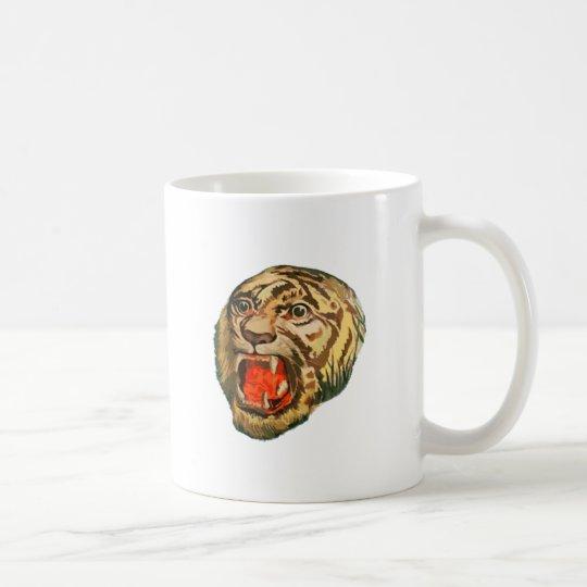 Retro bengalischer Tiger Tasse