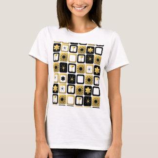 Retro bezaubernder GoldT - Shirt