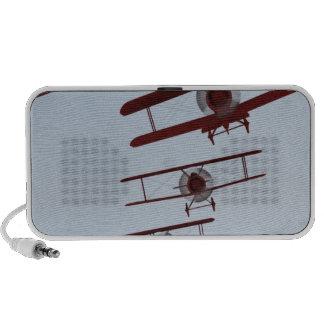 Rétro biplan mini haut-parleur