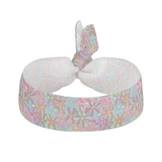 Retro Blumen-Muster-Haargummi Haarschleife