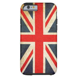 Retro britische Gewerkschafts-Jack-Flagge starker Tough iPhone 6 Hülle