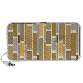 Rétro Brown Haut-parleur Ordinateur Portable