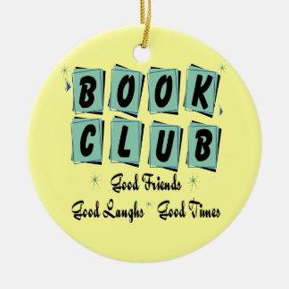 Retro Buchgemeinschaft-Verzierung - gute Freunde Keramik Ornament