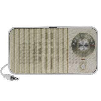 Rétro cadran par radio haut-parleurs mobiles