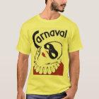 Retro Carnaval Karnevalsclown T-Shirt