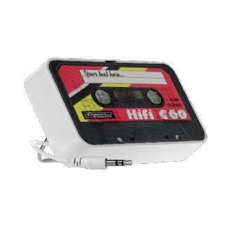 Rétro cassette haut-parleur mobile