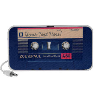 Rétro cassette mini haut-parleur
