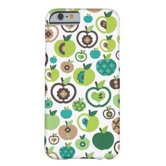 Rétro conception mignonne de motif de fleur coque iPhone 6 slim