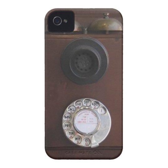 Rétro couverture de téléphone coque iPhone 4 Case-Mate