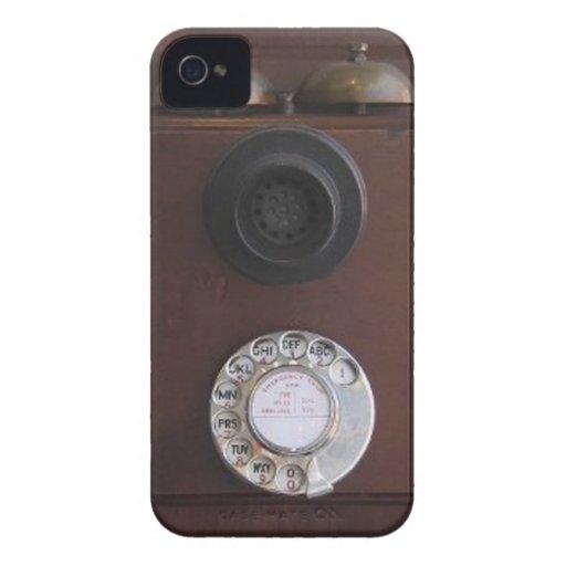 Rétro couverture de téléphone étui iPhone 4