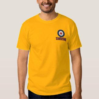 Retro der T - Shirt der Roller-Junge gestickten
